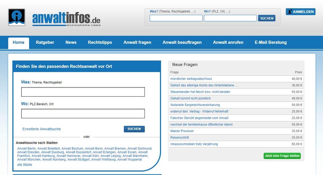 Anwaltinfos.de