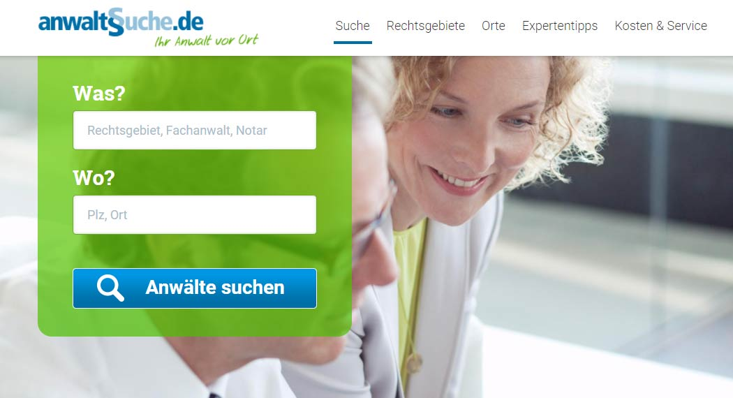 Anwaltssuche.de: Legal Tech aus Köln