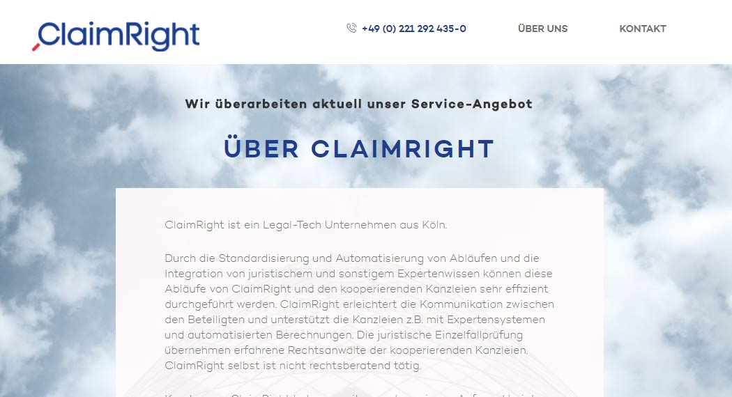 claimright: Legal Tech aus Köln