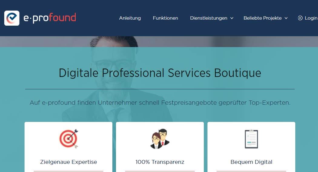 e-Profound: Legal Tech aus München
