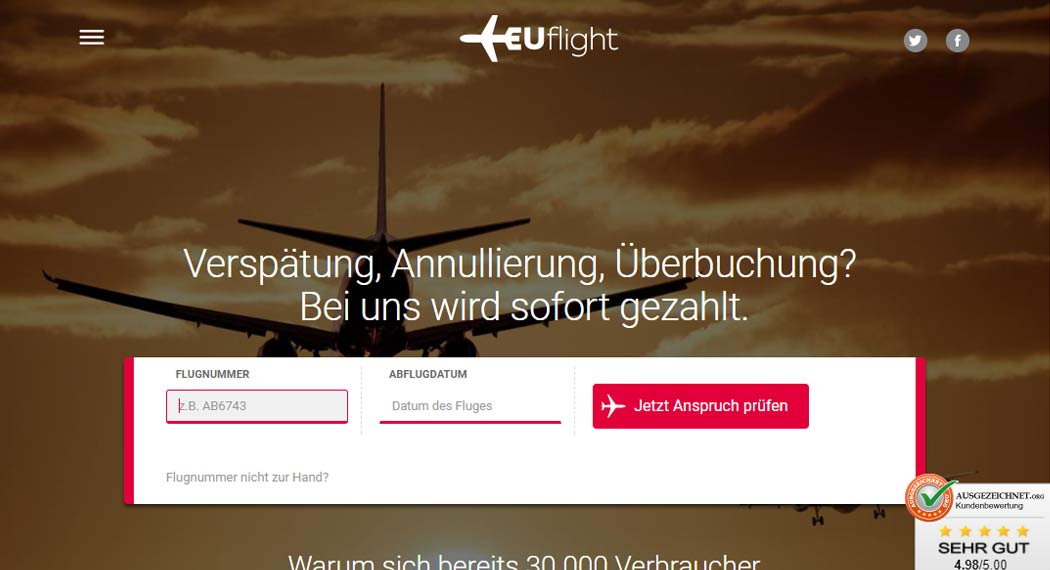 EUflight: Legal Tech aus Hamburg