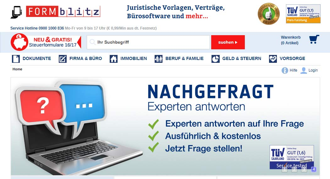 Formblitz: Legal Tech aus Berlin