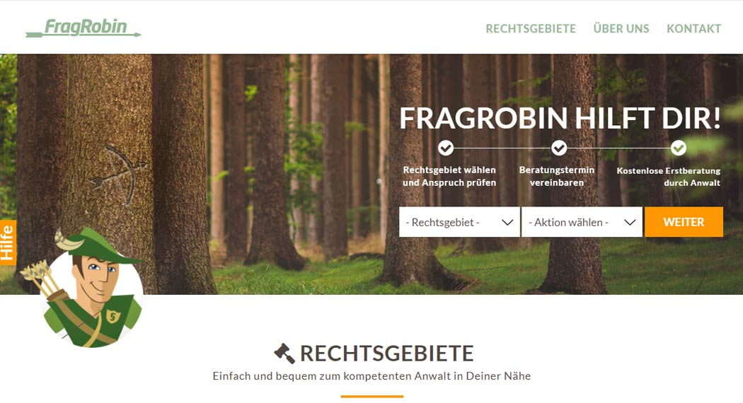 FragRobin: Legal Tech aus Berlin