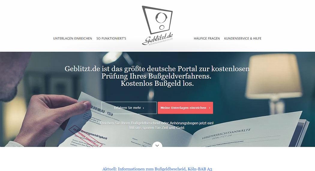Geblitzt.de - Legal Tech aus Berlin