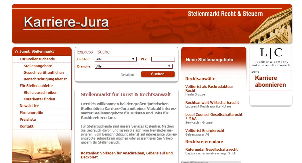 Karriere-Jura: Legal Tech aus München