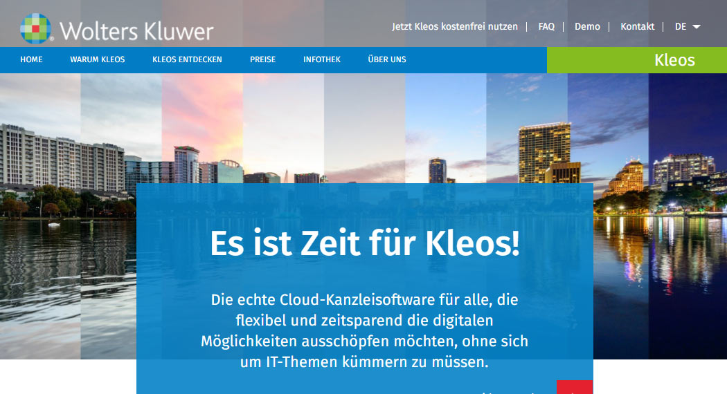 Kleos: Legal Tech aus Köln
