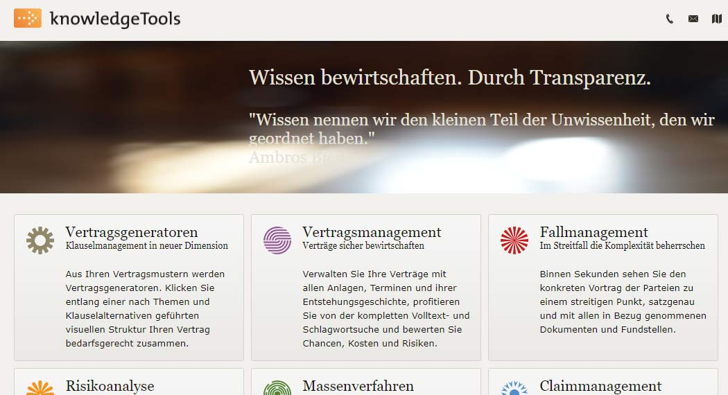 knowledgeTools: Legal Tech aus Berlin
