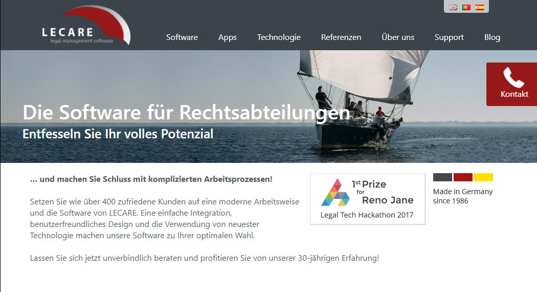 lecare: Legal Tech aus Hamburg