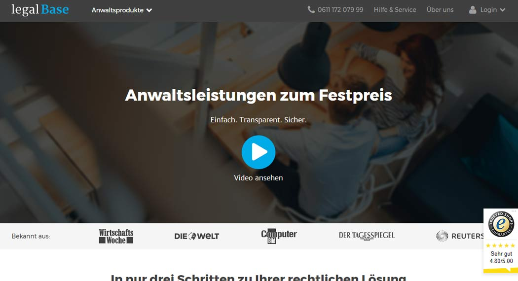 Legalbase: Legal Tech aus Berlin