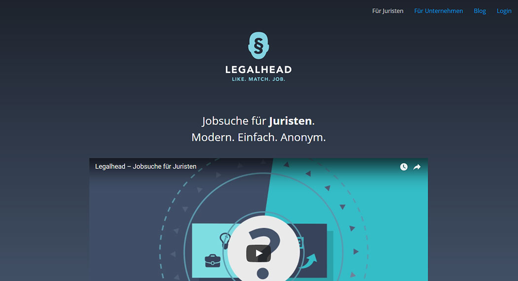 Legalhead: Legal Tech aus Frankfurt am Main