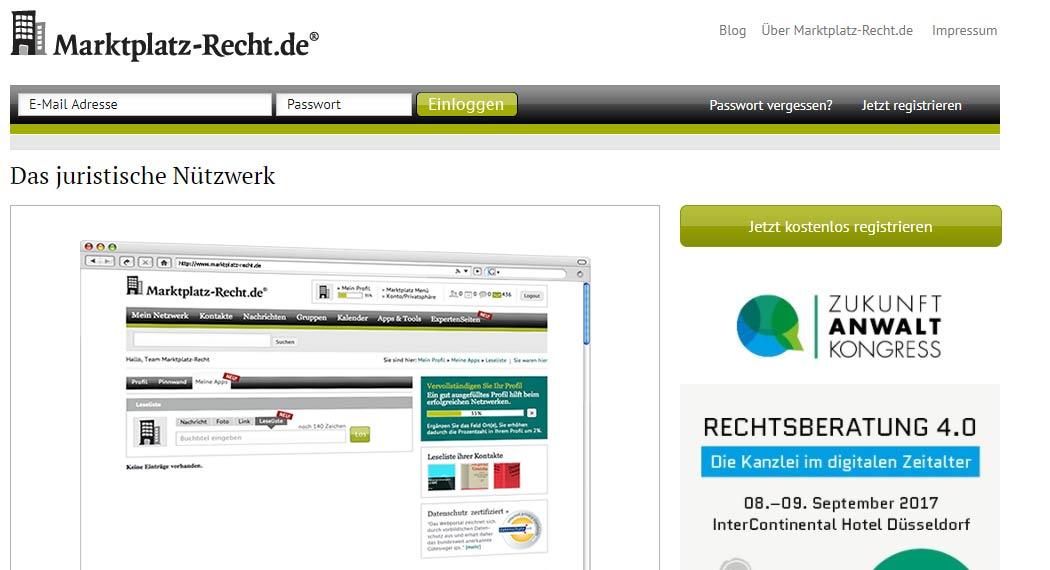 marktplatz-recht.de: Legal Tech aus Hannover