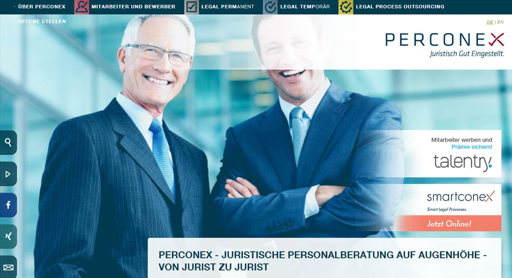 perconex: Legal Tech aus Frankfurt am Main