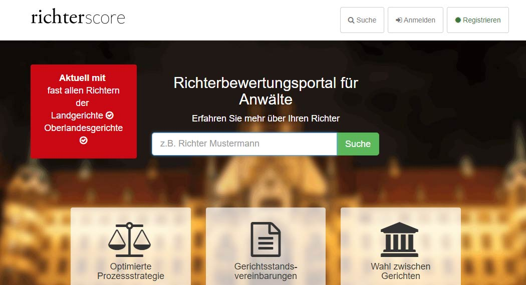 Richterscore: Legal Tech aus Berlin
