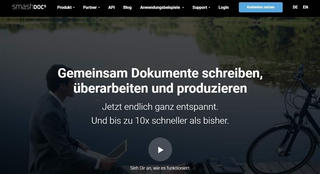 smashdocs: Legal Tech aus München