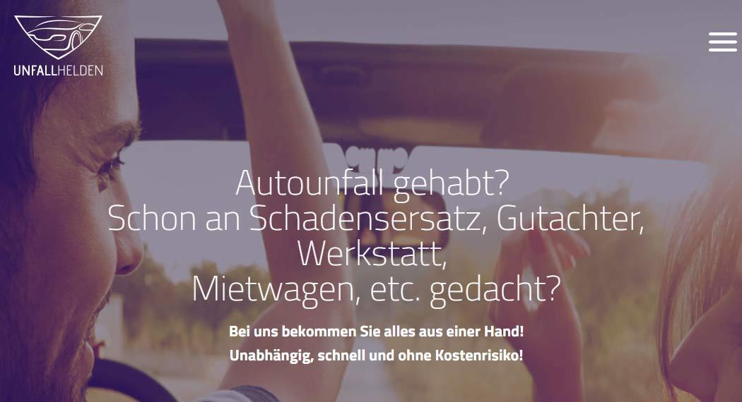 Unfallhelden: Legal Tech aus München