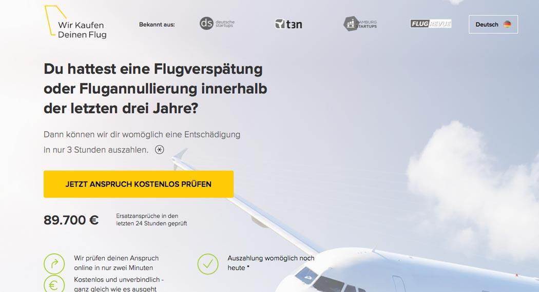 Legal Tech: Wir kaufen deinen Flug