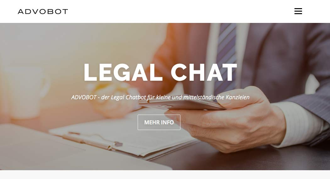 Advobot: Legal Tech aus Berlin