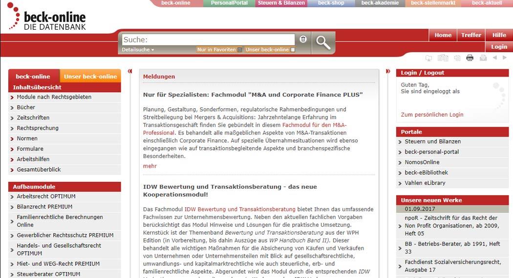 beck-online: Legal Tech aus München