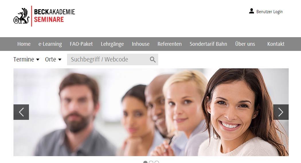 Beck Akademie Seminare: Legal Tech aus München