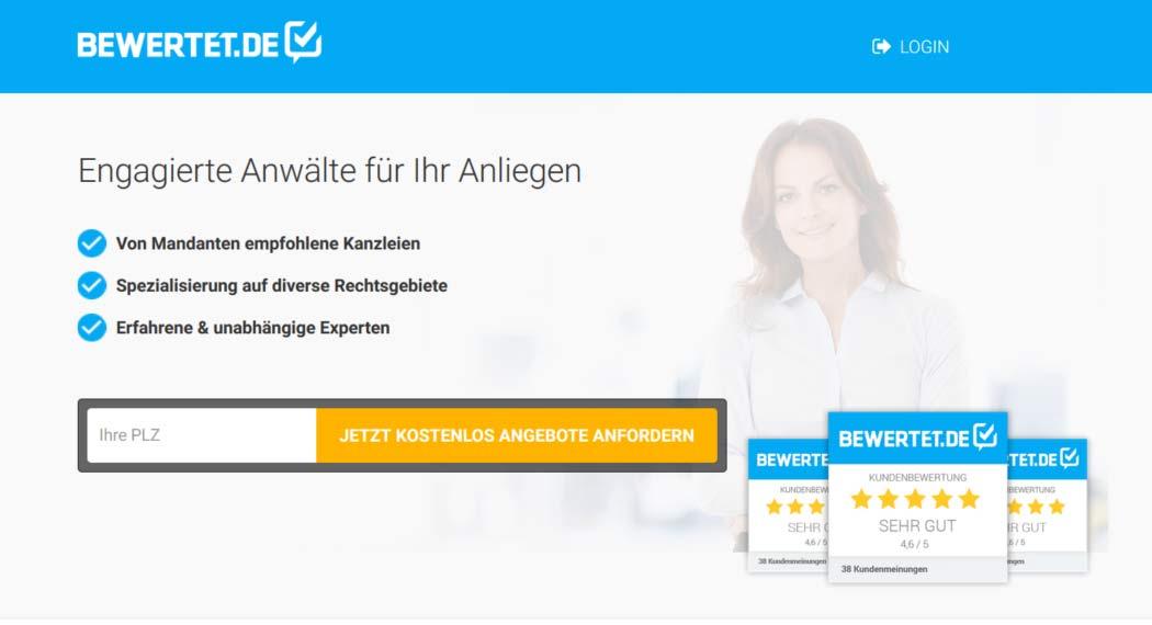Bewertet.de: Legal Tech aus Köln