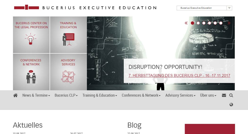 Bucerius Executive Education: Legal Tech aus Hamburg