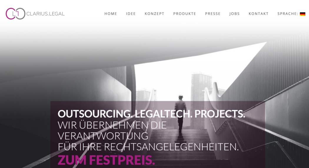 Clarius.legal: Legal Tech aus Hamburg