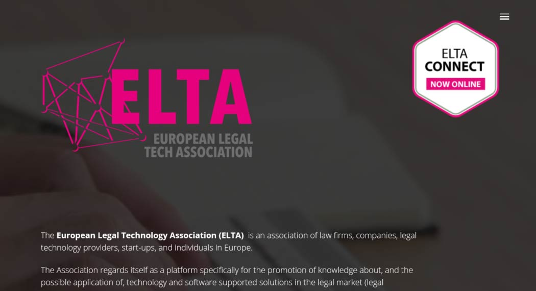 ELTA: Legal Tech Association aus Berlin