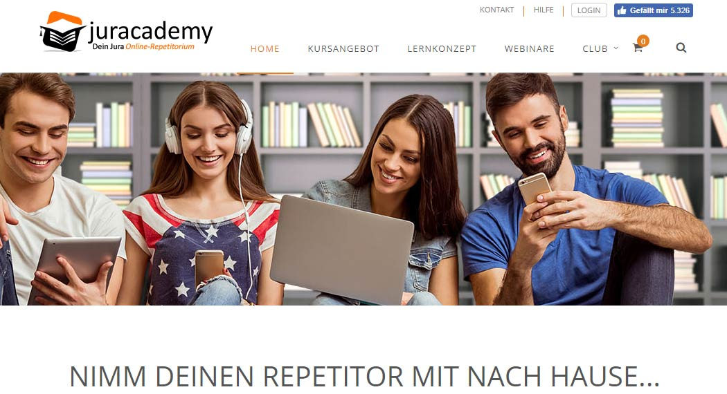 juracademy: Legal Tech aus Siegen