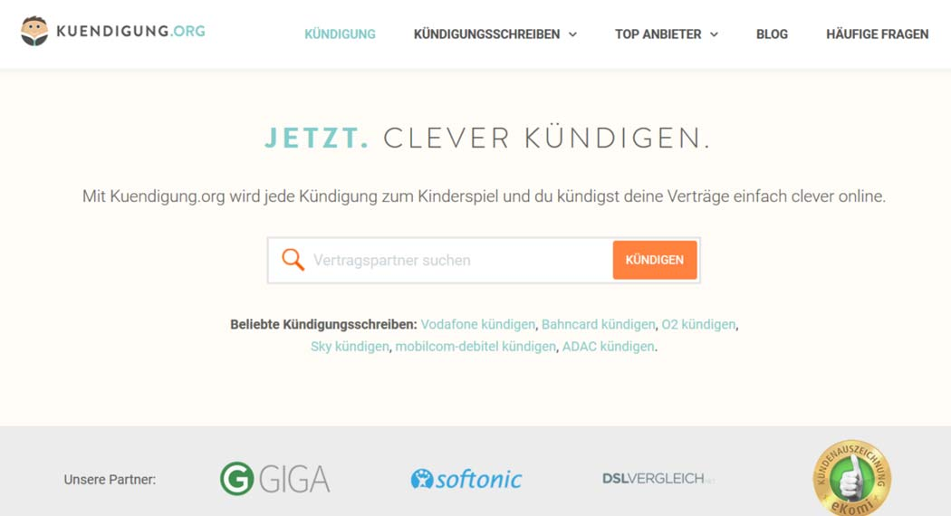 Kuendigung.org: Legal Tech aus Backnang