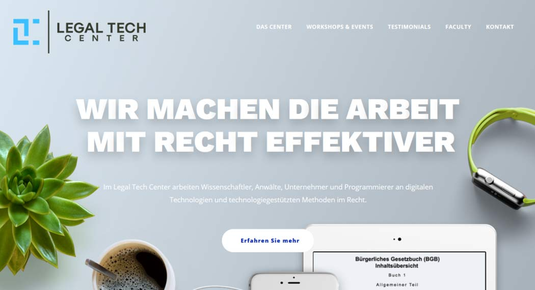 Legal Tech Center: Legal Tech aus Frankfurt (Oder)
