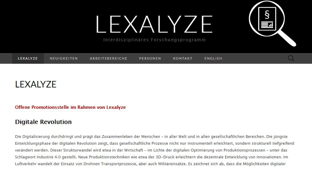 Lexalyze: Legal Tech aus Garching