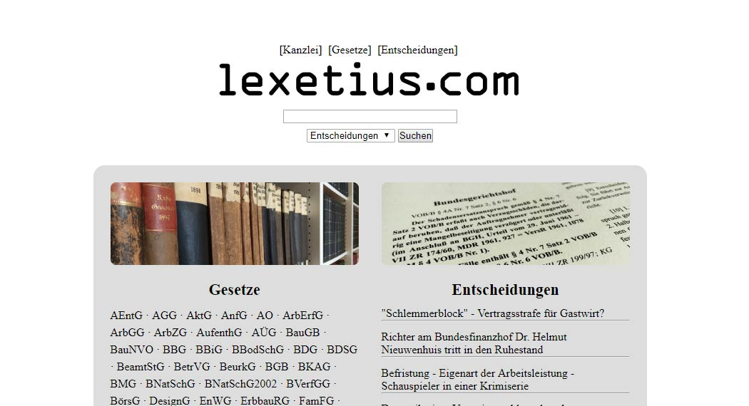 lexetius: Legal Tech aus Heidelberg