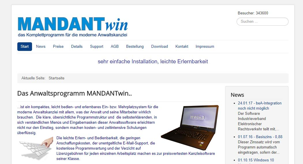 Mandant Win - Legal Tech