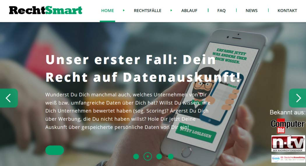 rechtsmart: Legal Tech aus Hamburg