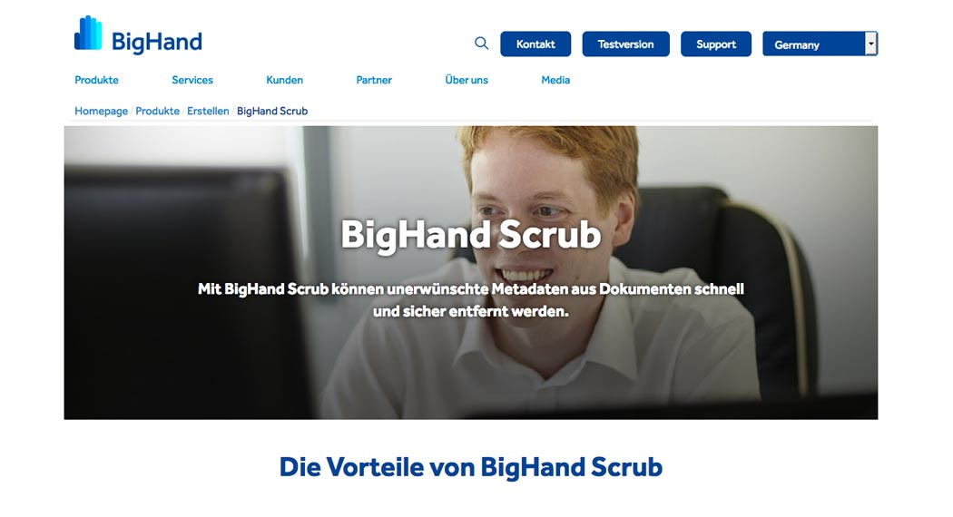 Legal Tech: BigHand Scrub