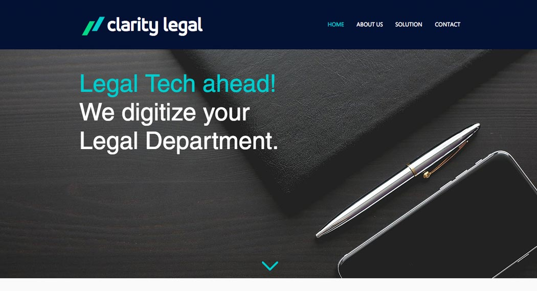 Legal Tech: Clarity Legal