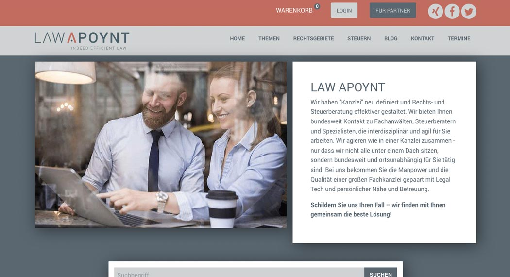 Legal Tech: Law Apoynt