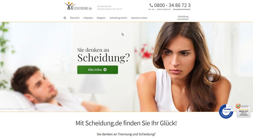 Legal Tech: Scheidung.de