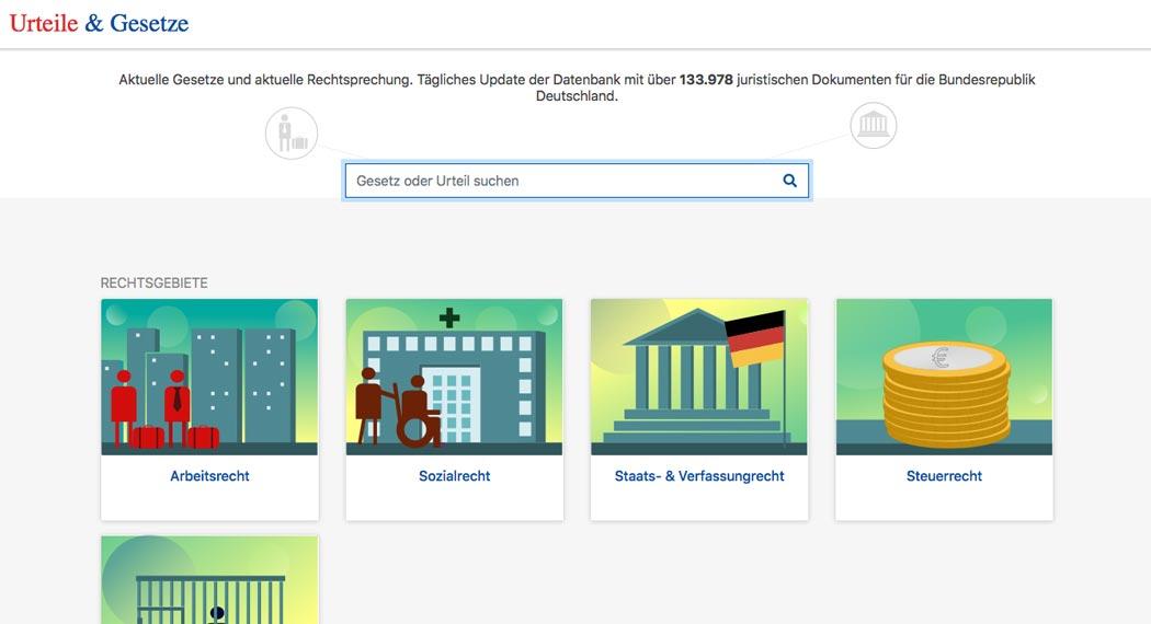 Legal Tech in Deutschland: Urteile und Gesetze